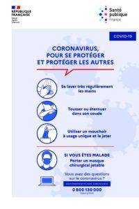 coronavirus gestes barrières