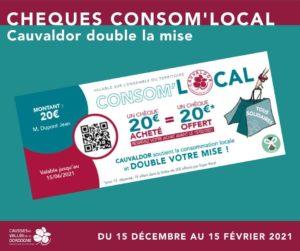 Chèque consommation locale